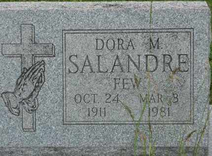 FEW SALANDRE, DORA M - Portage County, Ohio | DORA M FEW SALANDRE - Ohio Gravestone Photos