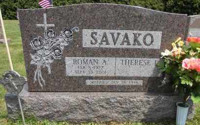 SAVAKO, ROMAN A - Portage County, Ohio | ROMAN A SAVAKO - Ohio Gravestone Photos