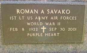 SAVAKO, ROMAN A - Portage County, Ohio | ROMAN A SAVAKO - Ohio Gravestone Photos