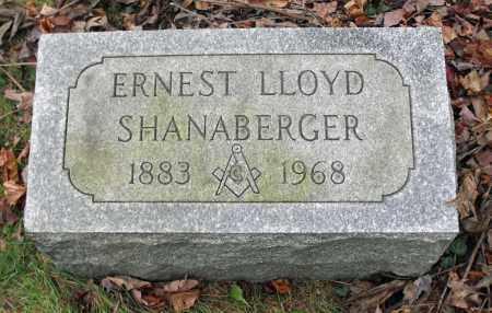 SHANABERGER, ERNEST LLOYD - Portage County, Ohio | ERNEST LLOYD SHANABERGER - Ohio Gravestone Photos