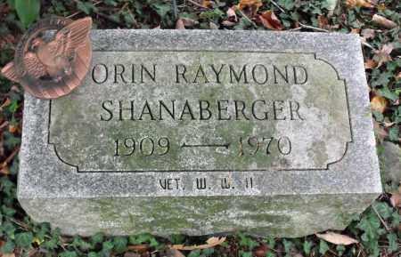 SHANABERGER, ORIN RAYMOND - Portage County, Ohio | ORIN RAYMOND SHANABERGER - Ohio Gravestone Photos