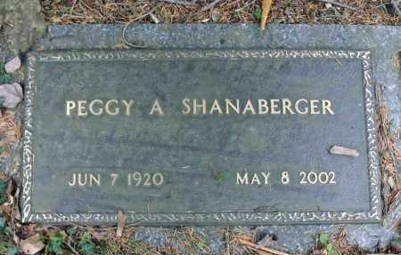 SHANABERGER, PEGGY A. - Portage County, Ohio | PEGGY A. SHANABERGER - Ohio Gravestone Photos
