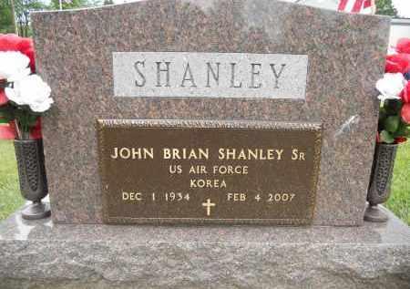 SHANLEY, JOHN BRIAN - Portage County, Ohio | JOHN BRIAN SHANLEY - Ohio Gravestone Photos