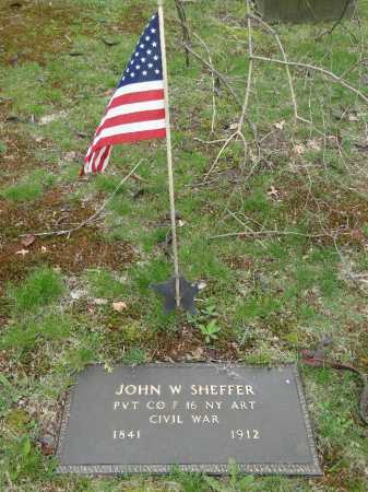 SHEFFER, JOHN W. - Portage County, Ohio | JOHN W. SHEFFER - Ohio Gravestone Photos