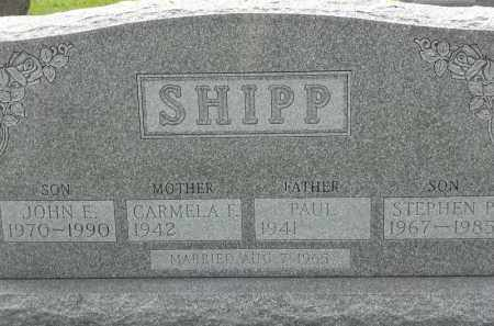 SHIPP, STEPHAN P - Portage County, Ohio | STEPHAN P SHIPP - Ohio Gravestone Photos