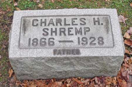 SHREMP, CHARLES H. - Portage County, Ohio   CHARLES H. SHREMP - Ohio Gravestone Photos