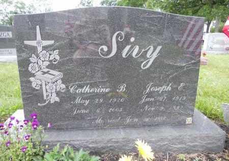 SIVY, JOSEPH E - Portage County, Ohio | JOSEPH E SIVY - Ohio Gravestone Photos