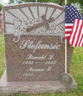 STEFANSIC, RONALD L - Portage County, Ohio | RONALD L STEFANSIC - Ohio Gravestone Photos