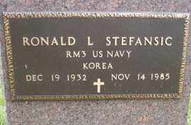 STEFANSIC, RONALD L - Portage County, Ohio | RONALD L STEFANSIC - Ohio Gravestone Photos