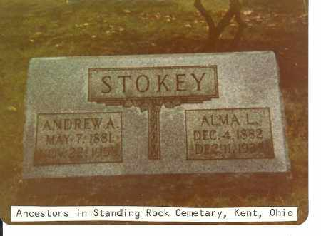 PLUM STOKEY, ALMA L. (LEMIRA) - Portage County, Ohio | ALMA L. (LEMIRA) PLUM STOKEY - Ohio Gravestone Photos