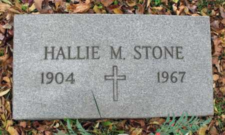 STONE, HALLIE M. - Portage County, Ohio | HALLIE M. STONE - Ohio Gravestone Photos