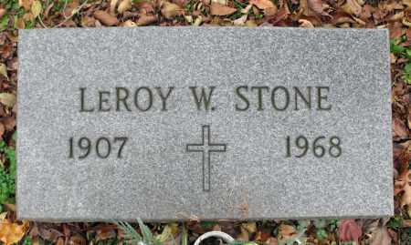 STONE, LEROY W. - Portage County, Ohio | LEROY W. STONE - Ohio Gravestone Photos