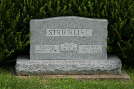 STRICKLING, GLADYS - Portage County, Ohio | GLADYS STRICKLING - Ohio Gravestone Photos