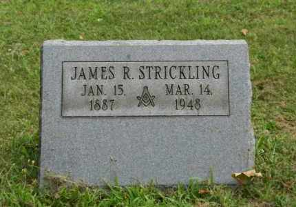STRICKLING, JAMES R - Portage County, Ohio | JAMES R STRICKLING - Ohio Gravestone Photos