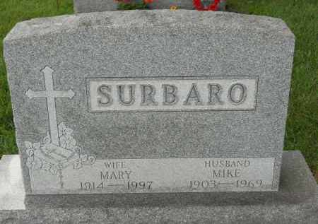 SURBARO, MARY - Portage County, Ohio | MARY SURBARO - Ohio Gravestone Photos
