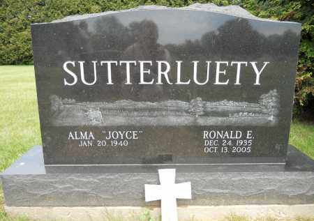 SUTTERLUETY, RONALD E - Portage County, Ohio | RONALD E SUTTERLUETY - Ohio Gravestone Photos