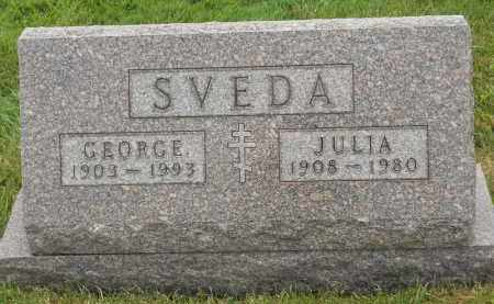 SVEDA, JULIA - Portage County, Ohio | JULIA SVEDA - Ohio Gravestone Photos
