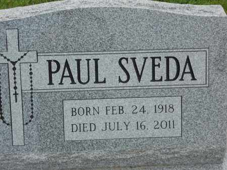 SVEDA, PAUL - Portage County, Ohio | PAUL SVEDA - Ohio Gravestone Photos
