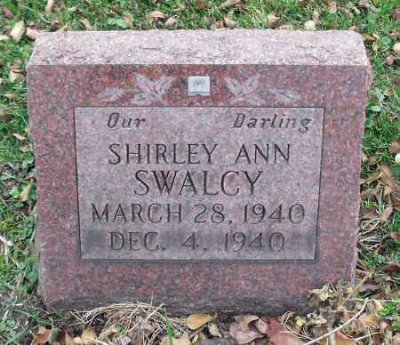SWALCY, SHIRLEY ANN - Portage County, Ohio | SHIRLEY ANN SWALCY - Ohio Gravestone Photos