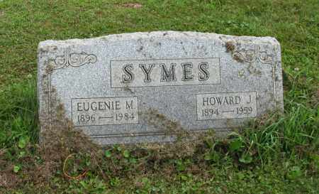 SYMES, HOWARD J - Portage County, Ohio | HOWARD J SYMES - Ohio Gravestone Photos
