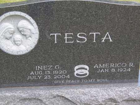 TESTA, INEZ G - Portage County, Ohio | INEZ G TESTA - Ohio Gravestone Photos
