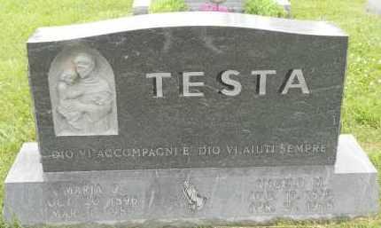 TESTA, MARIA C - Portage County, Ohio | MARIA C TESTA - Ohio Gravestone Photos