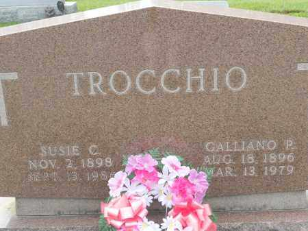 TROCCHIO, GALLIANO P - Portage County, Ohio | GALLIANO P TROCCHIO - Ohio Gravestone Photos