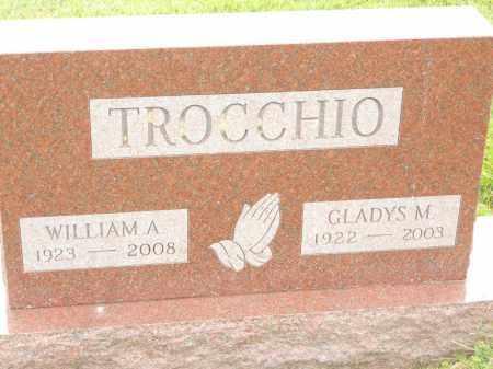 TROCCHIO, GLADYS M - Portage County, Ohio | GLADYS M TROCCHIO - Ohio Gravestone Photos