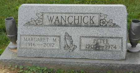 WANCHICK, MARGARET M - Portage County, Ohio | MARGARET M WANCHICK - Ohio Gravestone Photos