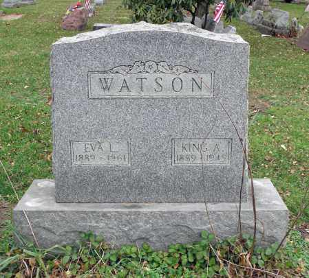 WATSON, KING A. - Portage County, Ohio | KING A. WATSON - Ohio Gravestone Photos