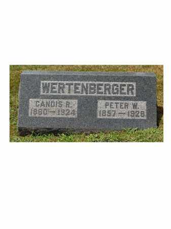 WERTENBERGER, CANDIS R. - Portage County, Ohio | CANDIS R. WERTENBERGER - Ohio Gravestone Photos