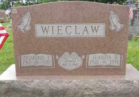WIECLAW, JUANITA B - Portage County, Ohio | JUANITA B WIECLAW - Ohio Gravestone Photos