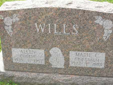 GRIESBAUM WILLS, MARIE C - Portage County, Ohio | MARIE C GRIESBAUM WILLS - Ohio Gravestone Photos
