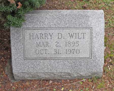 WILT, HARRY D. - Portage County, Ohio | HARRY D. WILT - Ohio Gravestone Photos