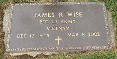 WISE, JAMES R - Portage County, Ohio | JAMES R WISE - Ohio Gravestone Photos