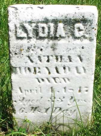 ?, LYDIA C. - Preble County, Ohio | LYDIA C. ? - Ohio Gravestone Photos