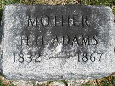 ADAMS, H. H. - Preble County, Ohio | H. H. ADAMS - Ohio Gravestone Photos