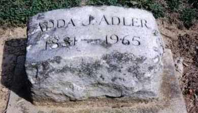 ADLER, ADDA J. - Preble County, Ohio | ADDA J. ADLER - Ohio Gravestone Photos