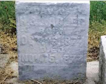 "ADLER, HENRIETTA ""RETTA"" - Preble County, Ohio | HENRIETTA ""RETTA"" ADLER - Ohio Gravestone Photos"