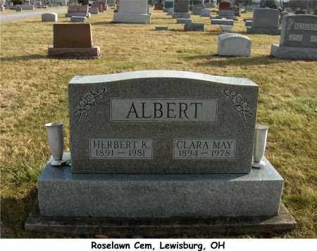 JAMES ALBERT, CLARA - Preble County, Ohio | CLARA JAMES ALBERT - Ohio Gravestone Photos