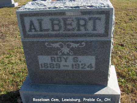 ALBERT, ROY - Preble County, Ohio | ROY ALBERT - Ohio Gravestone Photos