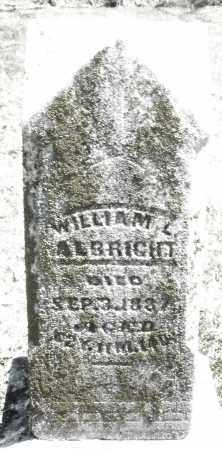ALBRIGHT, WILLIAM L. - Preble County, Ohio | WILLIAM L. ALBRIGHT - Ohio Gravestone Photos