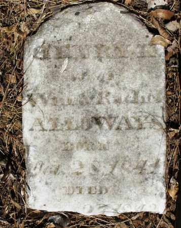 ALLOWAYS, HENRY ? - Preble County, Ohio | HENRY ? ALLOWAYS - Ohio Gravestone Photos