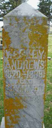 ANDREWS, WESLEY - Preble County, Ohio | WESLEY ANDREWS - Ohio Gravestone Photos