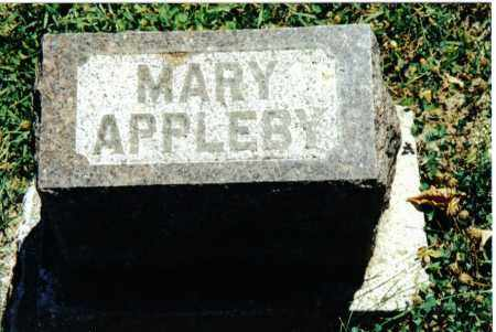 APPLEBY, MARY - Preble County, Ohio | MARY APPLEBY - Ohio Gravestone Photos
