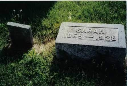 APPLEBY, SARAH - Preble County, Ohio | SARAH APPLEBY - Ohio Gravestone Photos