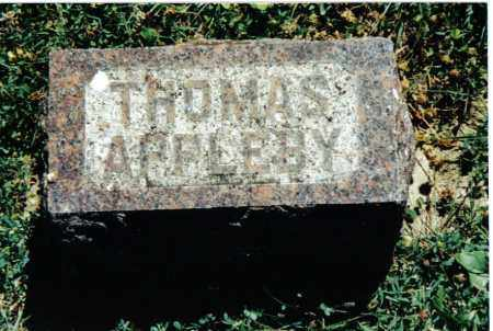 APPLEBY, THOMAS - Preble County, Ohio | THOMAS APPLEBY - Ohio Gravestone Photos