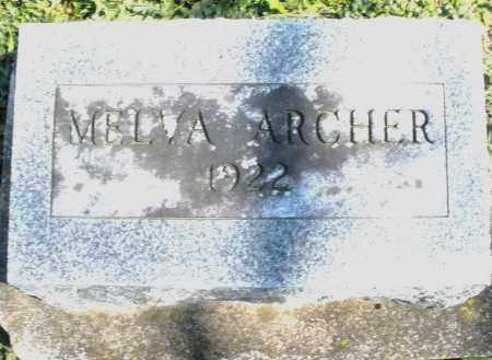 ARCHER, MELVA - Preble County, Ohio | MELVA ARCHER - Ohio Gravestone Photos