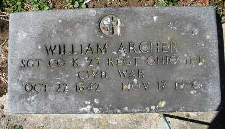 ARCHER, WILLIAM - Preble County, Ohio | WILLIAM ARCHER - Ohio Gravestone Photos