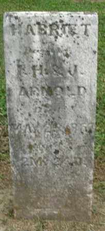 ARNOLD, HARRIET - Preble County, Ohio | HARRIET ARNOLD - Ohio Gravestone Photos